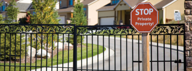 Security in Gated Communities